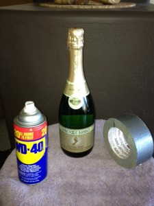 wd40 ducttape