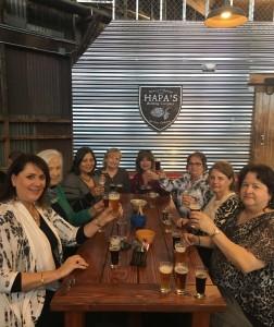 Beer Tasting at Hapa's